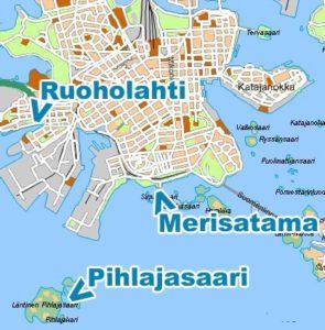 How To Get There Pihlajasaari
